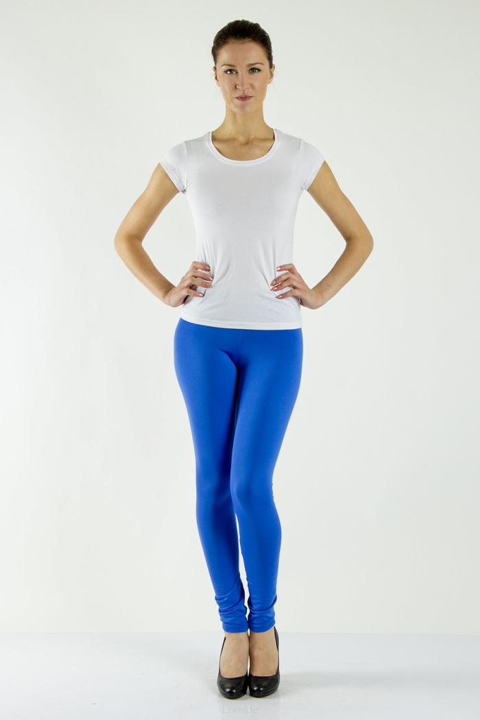 Legíny Lumide Exclusive Wear s kapsami a poutky barva modrá 80f1648c13