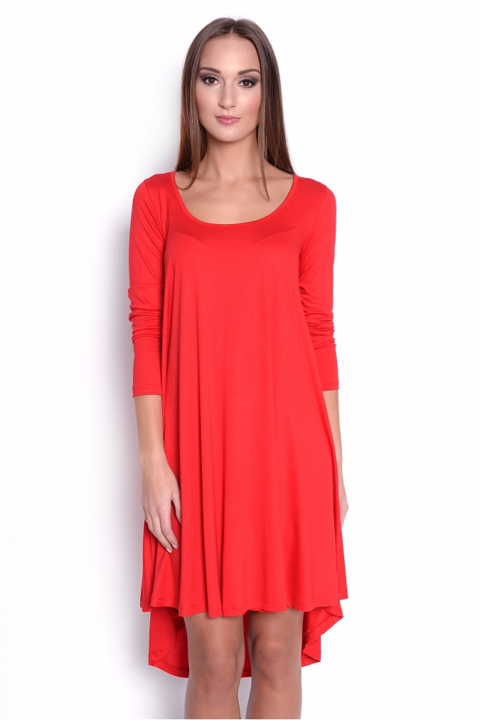 Červené šaty Adéla S/M