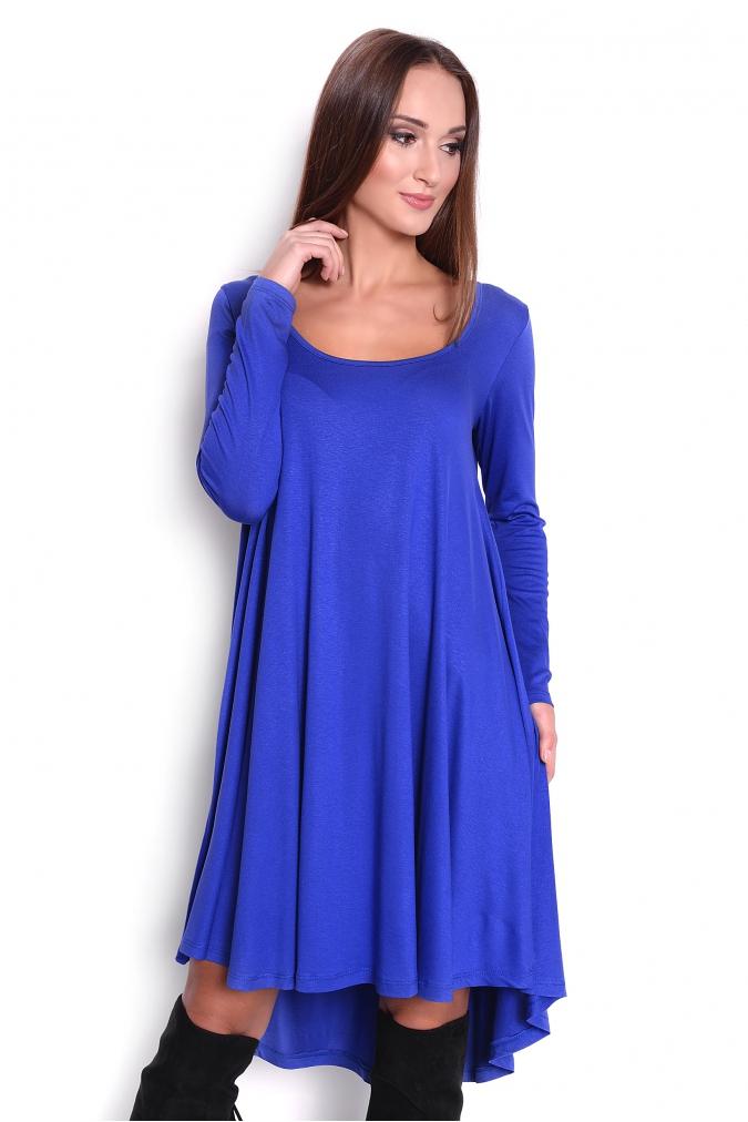 Modré šaty Adéla