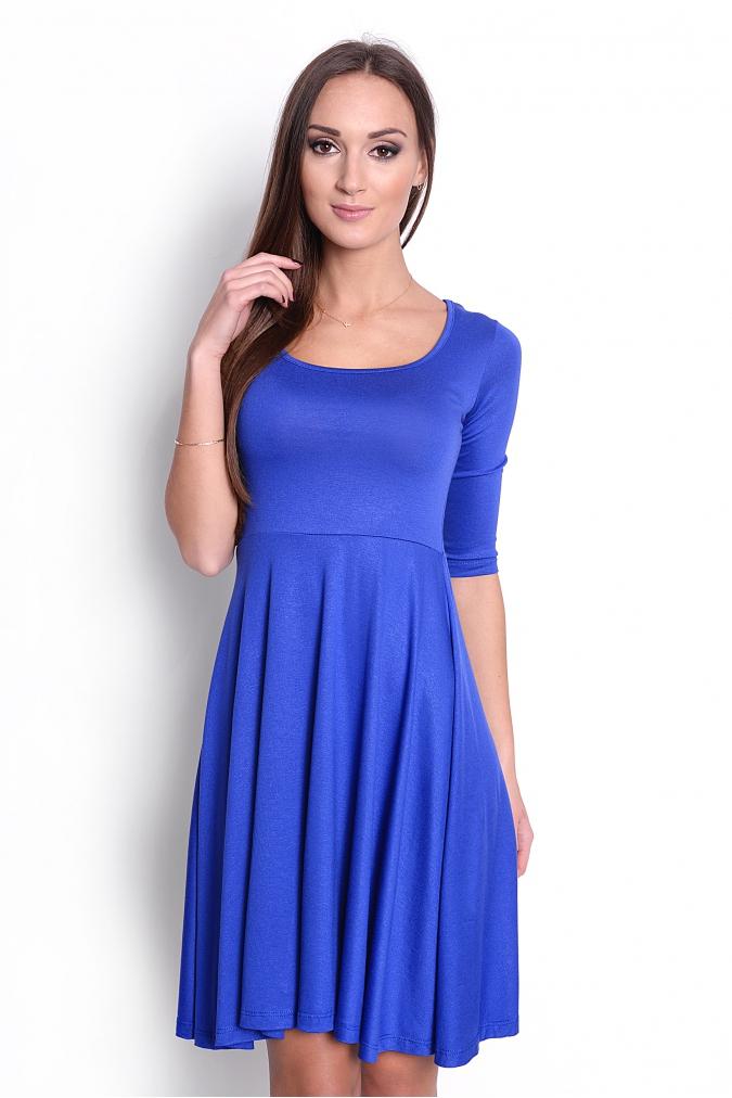 Modré šaty Agáta