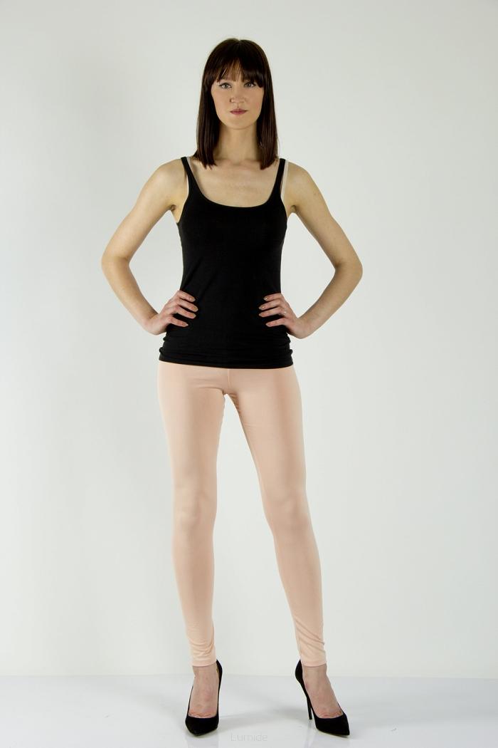 Legíny Lumide Exclusive Wear s kapsami a poutky barva pudrová empty 5123d13639